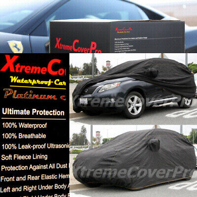 2013 2014 2015 Mercedes CLS550 CLS63 Waterproof Car Cover w//MirrorPocket Black