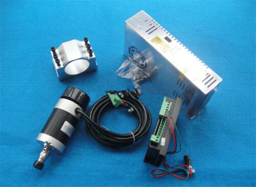 400w ER11 12000RPM BLDC spindle motor/&PWM MACH3 Driver/&switch power supply kit