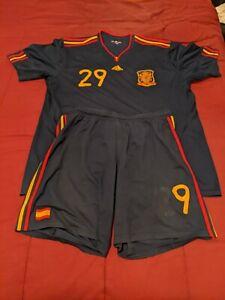 Spain Soccer national team away uniform 2010 FIFA world cup winners used