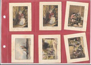 MILLHOFF-ART-TREASURES-2ND-SERIES-1928-6-LARGE-CARDS