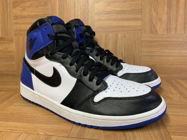 aliexpress buying now the best attitude RARE🔥 Nike Air Jordan 1 Retro Fragment Black Sport Royal Blue Sz 14  716371-040