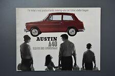 Vintage Brochure: Austin A40 Saloon & Countryman No.2290 Poster Style