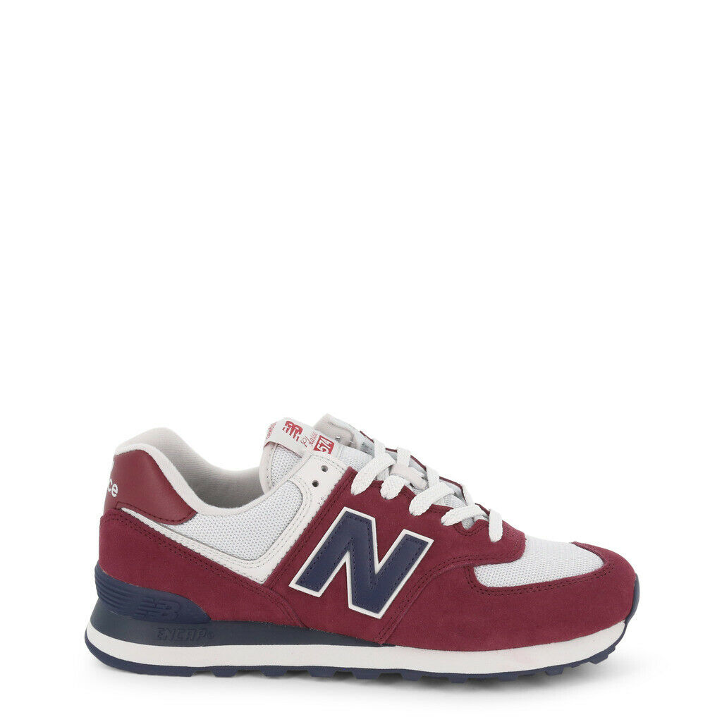 NEW BALANCE shoes men Sneakers basse ML574ESW red RED DECONSTRUCTED ORIGINAL