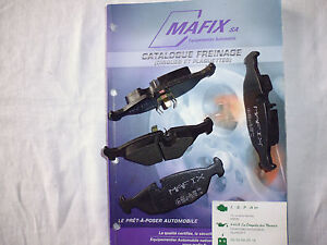 Mafix-4-plaquettes-de-frein-arriere-BMW-Serie-7-e23-LDPA44