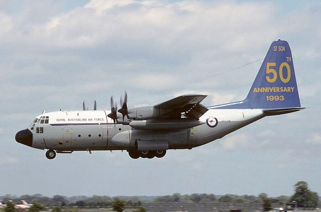 Jfox JFC130011 1 200 AUSTRALIA AIR FORCE C-130 HERCULES A97-178 50TH Anniversario