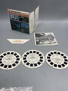 Florida's Silver Springs 1977 US Travel GAF No. H 50 Viewmaster Reels Packet