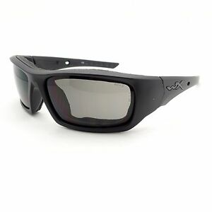 Image is loading Wiley-X-Arrow-Matte-Black-Grey-Sunglasses-New- 2765a644db