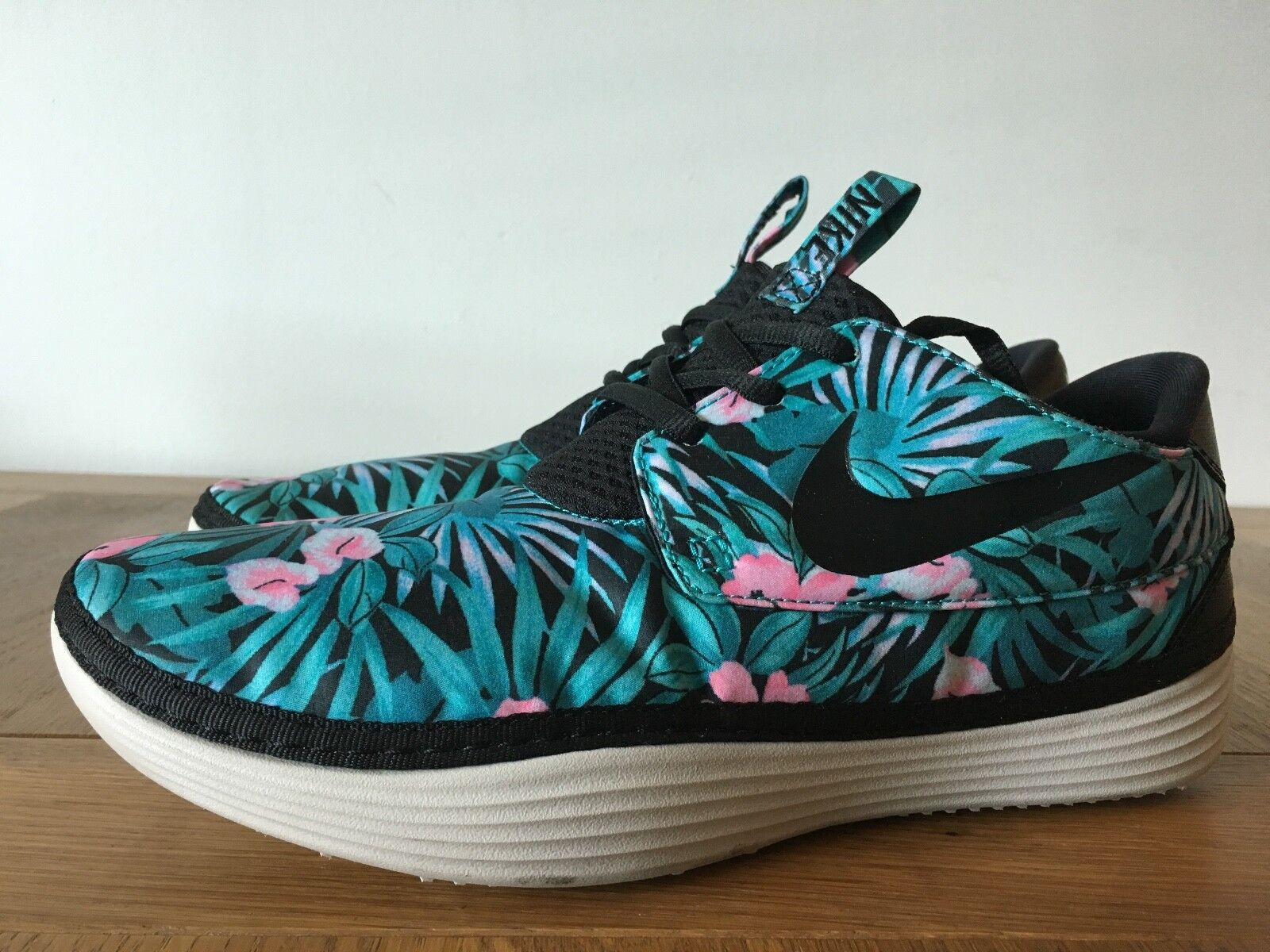NIKE SOLARSOFT UK MOCCASIN SP FLORAL PACK UK SOLARSOFT 8 US 9 ATMOS PATTA CLOT 39aba7