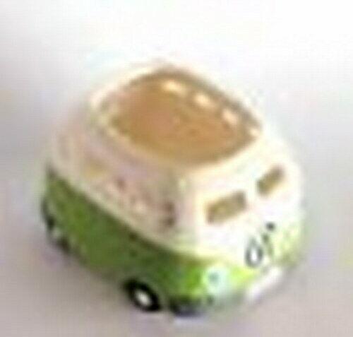 Light Green VW Van Kombi Tea Light Candle Holder Ceramic Collectable Volkswagens