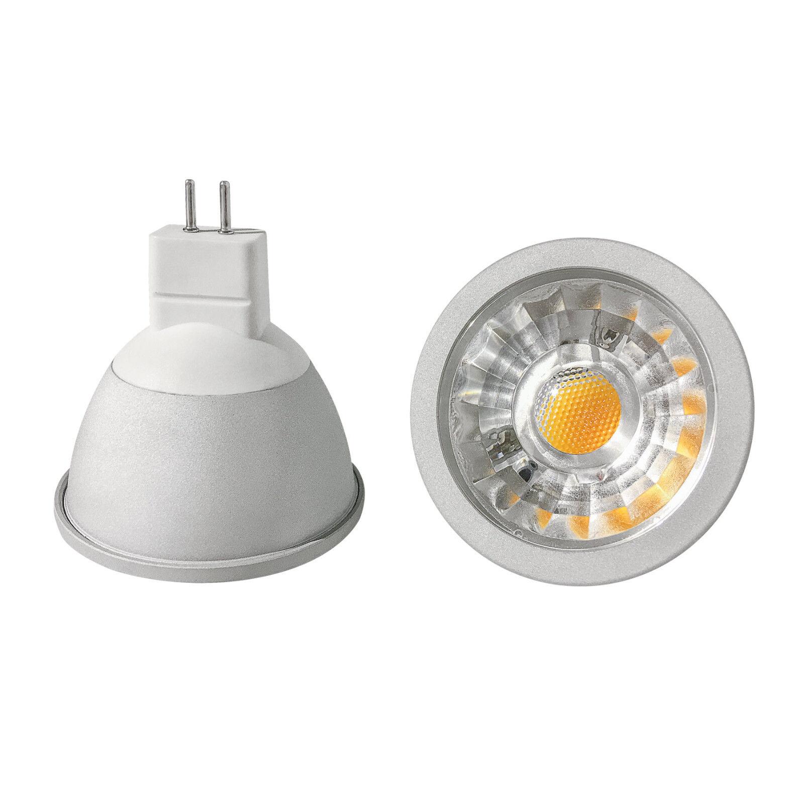 Cob lámparas LED gu5.3 mr16 - 3 5 6 vatios 280 450 540 lúmenes