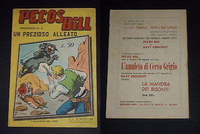 ***i Racconti Del West - Pecos Bill N. 3*** Ed. Alpe - 10 Agosto 1956