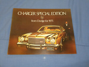 1975 Dodge Charger Special Edition Sales Brochure