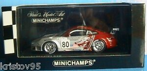 PORSCHE-911-GT3-RSR-80-24-H-LE-MANS-2005-FLYING-LIZARD-VAN-OVERBEEK-MINICHAMPS