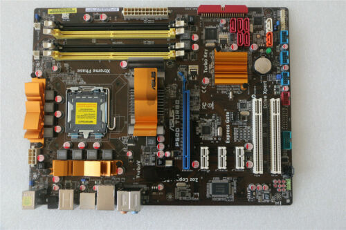 I//O ATX DDR2 P45 Asus P5QD TURBD desktop Motherboard LGA 775//Socket T 16G