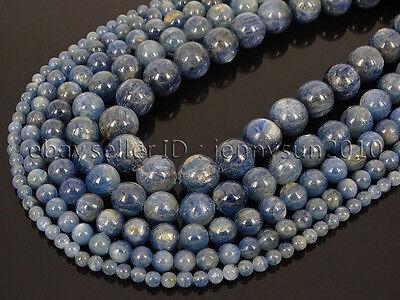 Natural Kyanite Gemstone Round Loose Spacer Beads 15/'/' 4mm 6mm 8mm 10mm 12mm