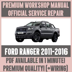 workshop manual service repair guide for ford ranger 2011 2016 rh ebay ie Professional Workshop Manuals Professional Workshop Manuals