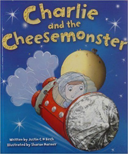 Large Childrens Bedtime Story Charlie & The Cheese Monster Picture Book 2041