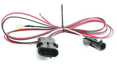 TPI TBI 3 Wire Heated Oxygen O2 Sensor Wire Harness Adapter Camaro Corvette 4ft
