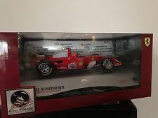 Ferrari 248 F1 M. Schumacher All time Career Record Leader 1:24 Hotwheels NEW !!