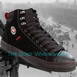 230cd563dae Details about Lee Cooper Steel Toe Cap Safety lc022 Baseball Safety Boots  Trainer Style