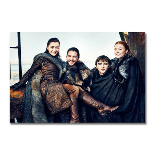 Game of Thrones Season 7 Art Silk Canvas Poster Print 13x20 24x36 inch