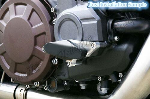 Engine Stator Water Pump Crash Sliders Protector Black For YAMAHA Vmax VMX 1700