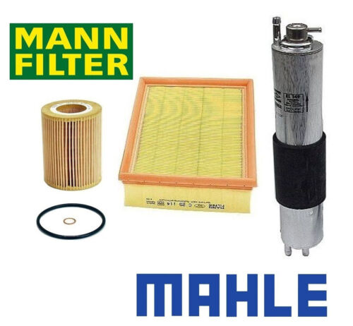 Oil-Air-Gas Filters BMW E46 OEM Filter Set