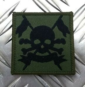 Genuine British Army The Royal Lancers OD Green TRF Patch / Badge NEW
