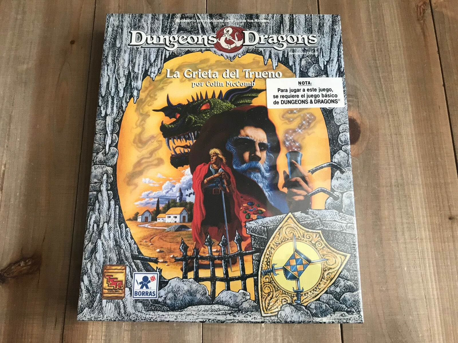 Donjons & Dragons  - la Fissure Du Tonnerre - Borrás - TSR - Basic D&d  nous offrons diverses marques célèbres