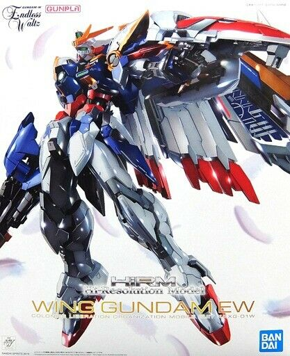 Beai Hi-Resolution modellolo 1 100 Ala Gundam Ew Plastica Kit W Nuovo
