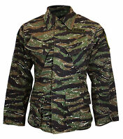 Us Army Tiger Stripe Vietnam Jacket - All Sizes Repro American Camouflage Coat