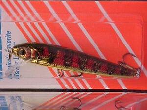 "Rebel 3 1/2"" 5/16oz Shallow Minnow F10479V  in Color GOLD PERCH for Bass/Walleye"
