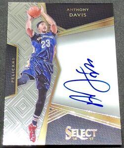 Details About Anthony Davis 16 17 Panini Select Signatures Auto Autograph 22 99 Pelicans