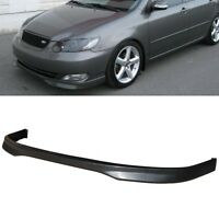 T-r Poly Urethane Pu Front Bumper Lip Spoiler Body Kit For 05-06 Toyota Corolla