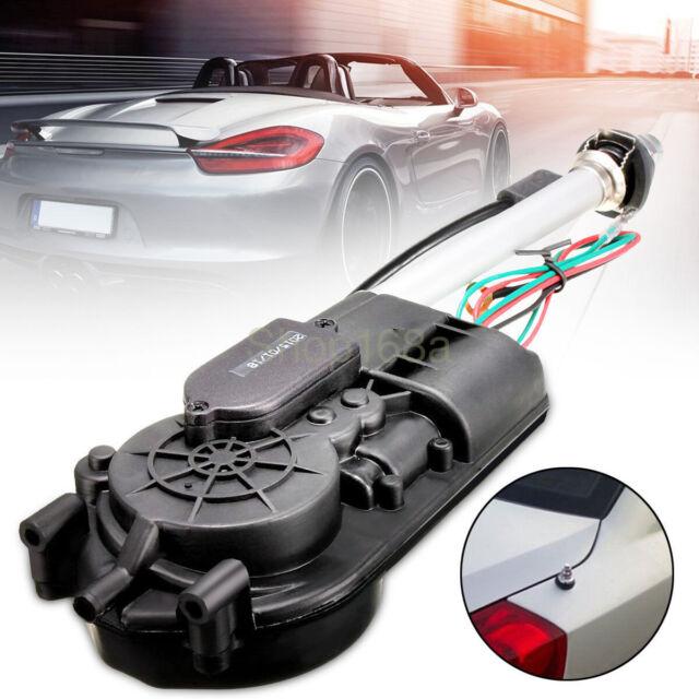 Universal Car Auto AM FM Radio Mast Power Electric Aerial Automatic Antenna Kit