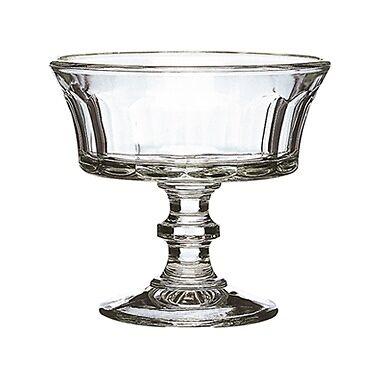 La Rochère  Champagne   Coupe à glace 22cl empilable en verre pressé - Lot de 6