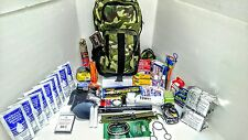 WW3 Day Disaster Emergency Survival Kit Bug Out Bag Earthquake with FOOD &WATER