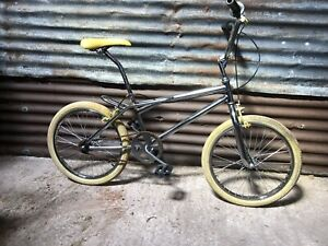 Vintage old skool 80s 90s BMX bike Chrome