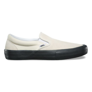 Vans White - Slip On Pro - White Vans / Black MSRP $60 88db02
