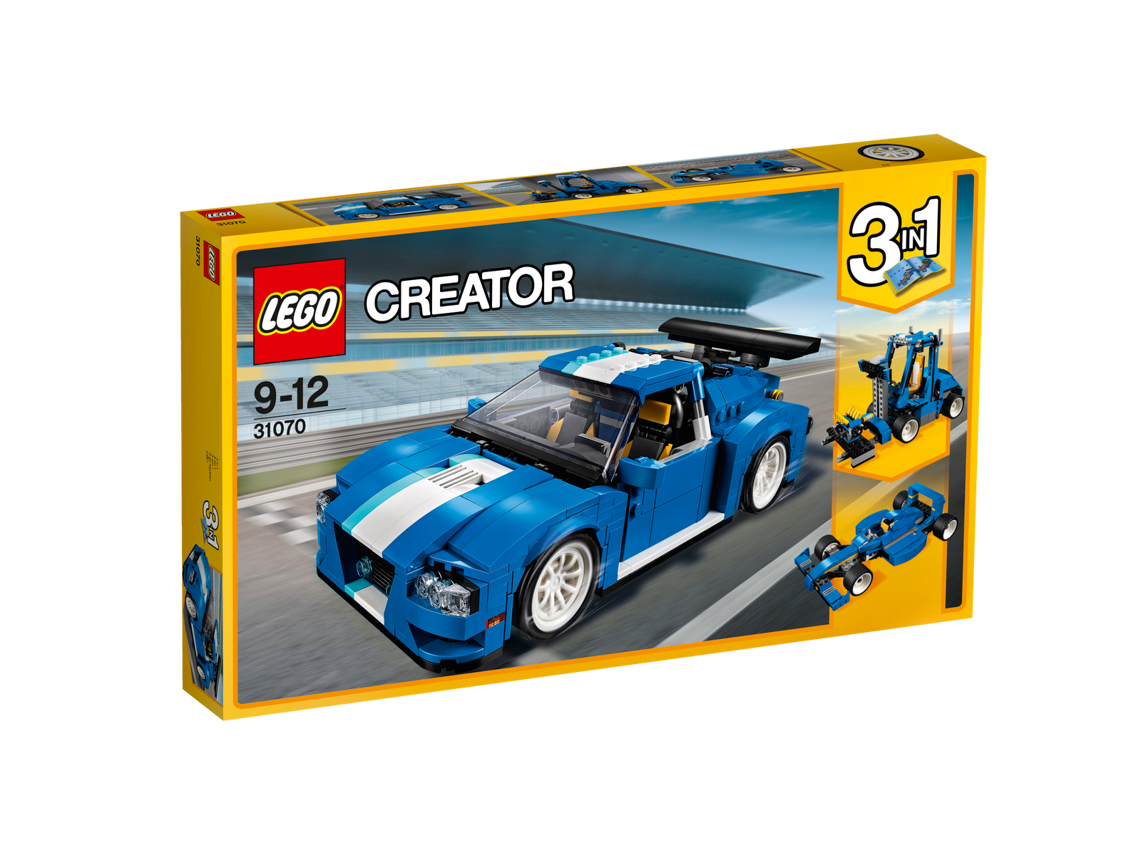 LEGO® Creator 31070 Turborennwagen NEU OVP_ Turbo Track Racer NEW MISB NRFB