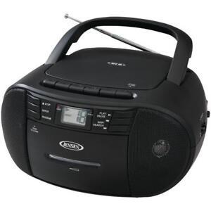 jensen cd 545 portable stereo cd player with cassette and am fm rh ebay com jensen cd-490 sport stereo cd player manual Jensen Stereo CD Player