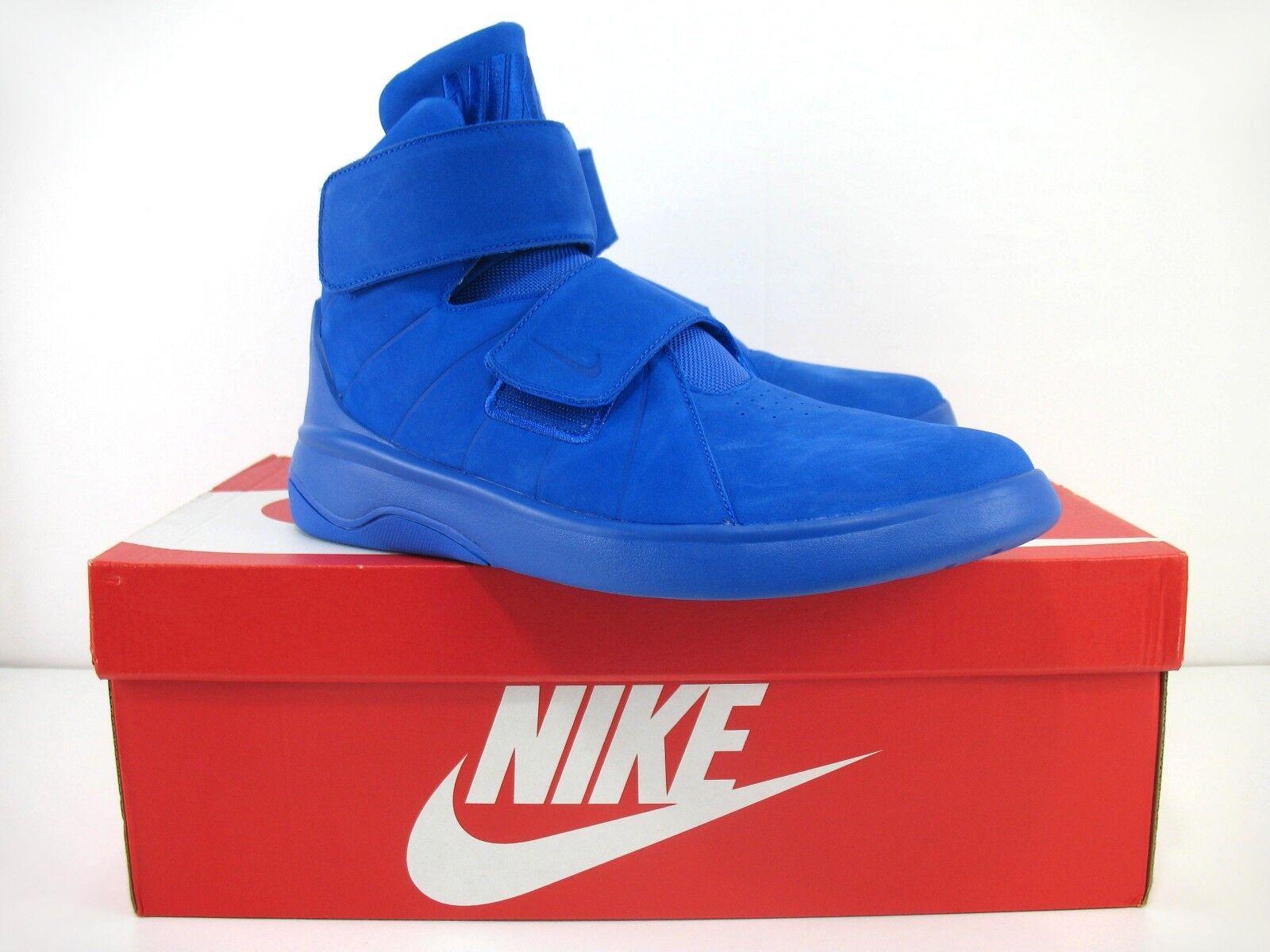 e90de18e22 Nike Marxman Premium PRM - Racer Blue Hi Tops Tops Tops With Box -  832766-400 - Sz 10 New 9346a8
