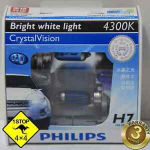 A-Pair-of-Genuine-Philips-H7-12V-4300K-55W-Crystal-Vision-Bulbs