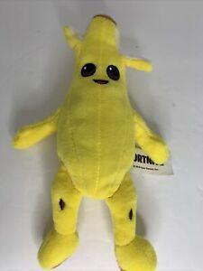 "FORTNITE 8"" PEELY Plush NaNa NaNa Banana Stuffed Animal Russ NWT FREE SHIPPING"