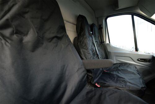 Heavy Duty Waterproof Van Seat Covers Driver /& Bench