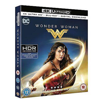 Wonder Woman (4K Ultra HD) 2017 film Gal Gadot & Chris Pine