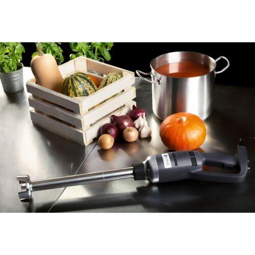 Gastro Stabmixer 500 W Edelstahl Pürierstab Mixer Mixstab 16.000 U//min 300 mm