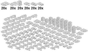 Lego-Bricksy-039-s-Bascis-White-D05-Kleinteile-Weiss