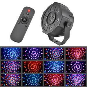 Disco-Party-Strobe-Lights-RGB-LED-Stage-Light-Colorful-KTV-DJ-Bar-Lamp-w-Speaker