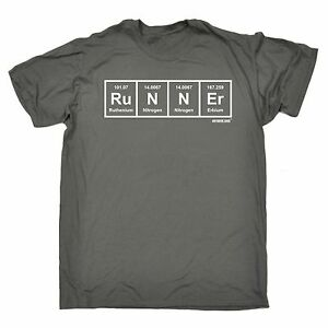 Image Is Loading Runner Periodic T SHIRT Running Jogger Sprint Race